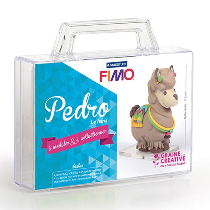 Kit figurine FIMO Pedro le lama
