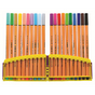 Feutre Point 88 Boite Colorparade de 20 dont 10 pastels