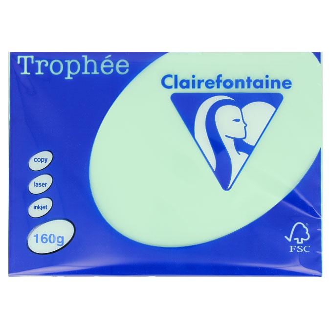 Ramette de papier A4 Trophée 160 g/m² 250 feuilles Gris Perle