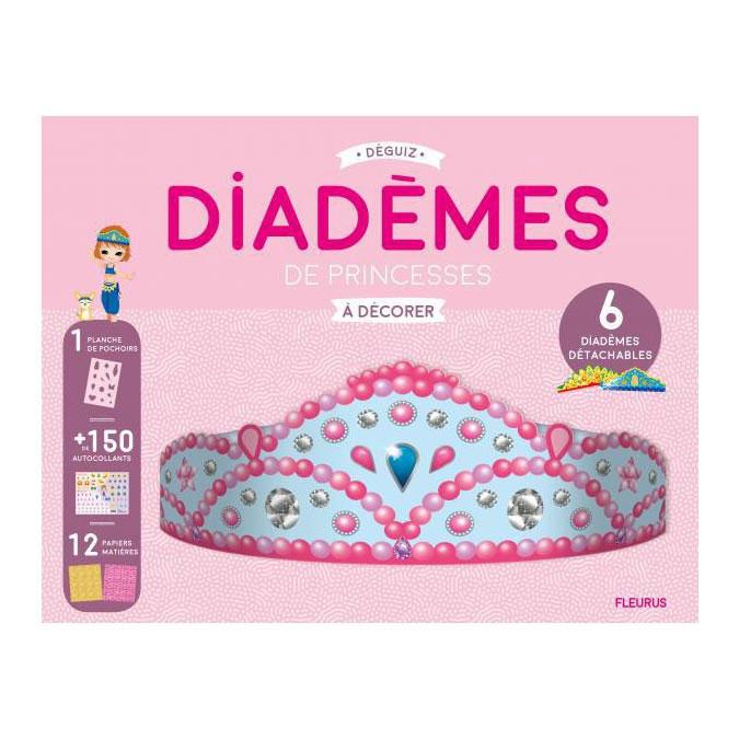 Masques à décorer Diadèmes de Princesses