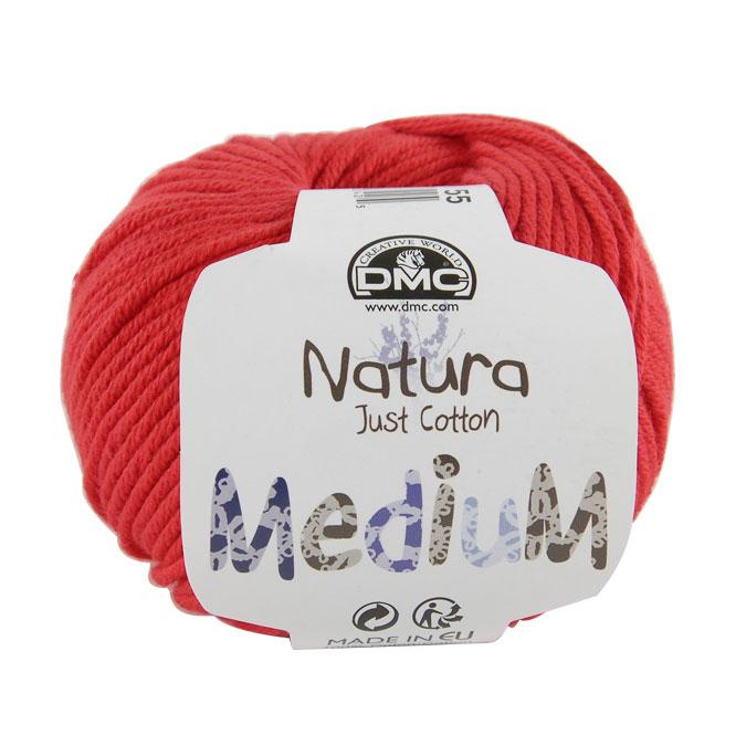 Pelote de Coton Natura Medium 50 g 06 Améthyste