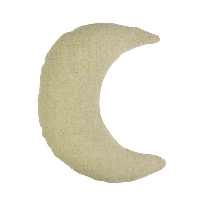 Coussin Lune en coton 22 x 16 cm