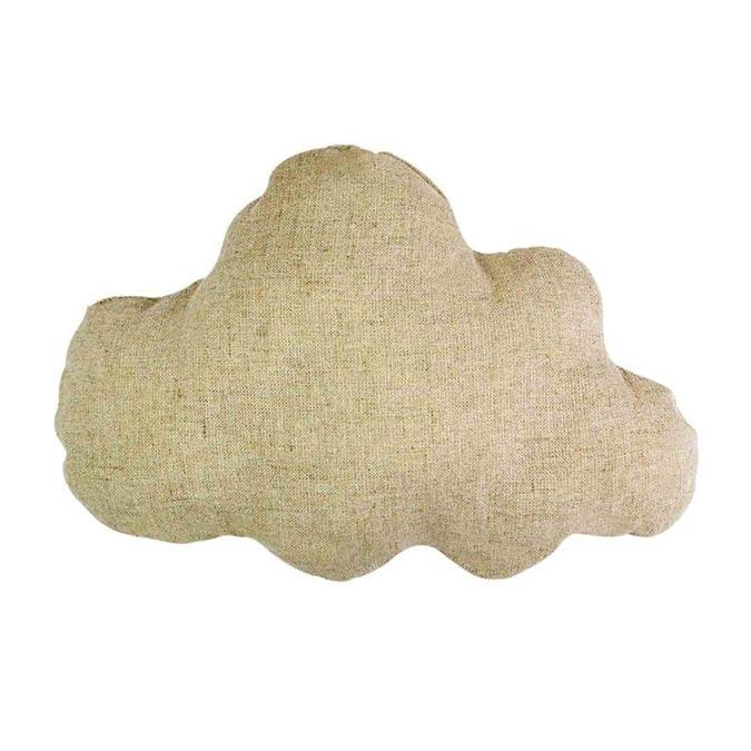 Coussin Nuage en coton 22 x 16 cm