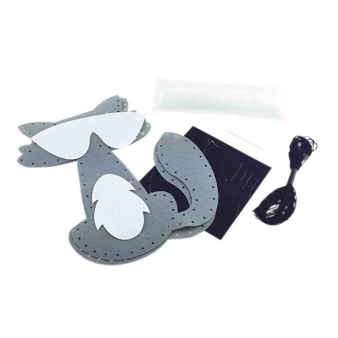 Peluche à coudre Doudou Raton laveur 22 cm