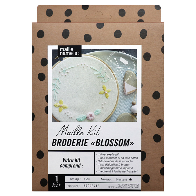 Maille Kit Broderie Blossom