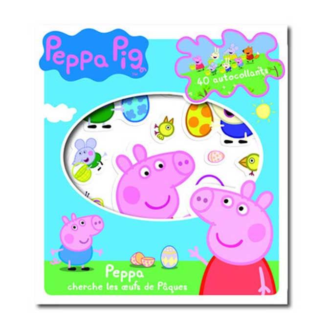 Livre Peppa Pig Cherche les oeufs Pâques