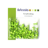 Mini attache parisienne Vert anis 100 pcs