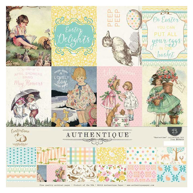 Kit de collection scrapbooking Eastertime
