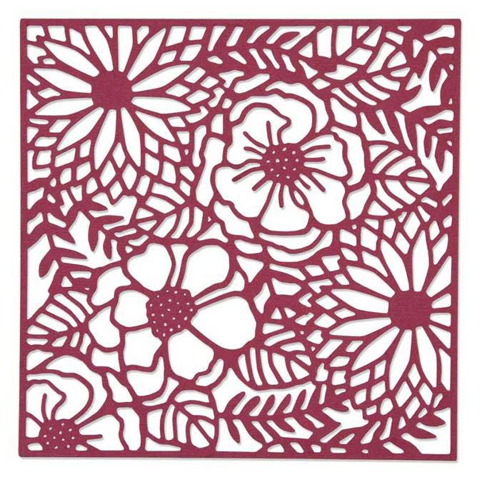 Matrice de découpe Thinlits DIE Fleurs des champs