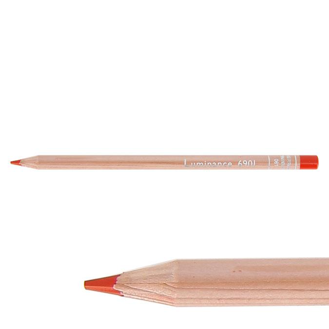Crayon de couleur Luminance 6901 001 Blanc LFI