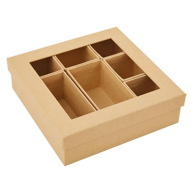 Boîte cadre Shadow Box en carton 15,2 cm