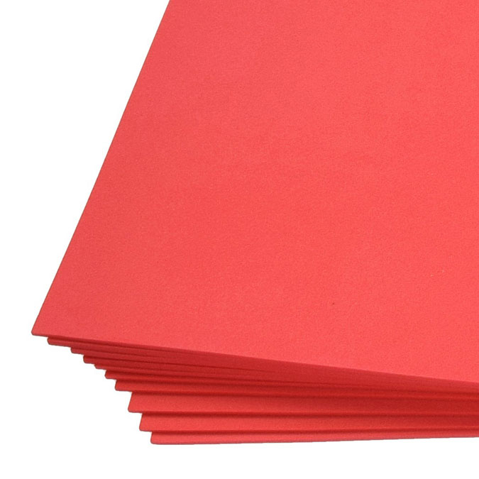 Feuille de mousse Creasoft 2 mm 30 x 45 cm Orange