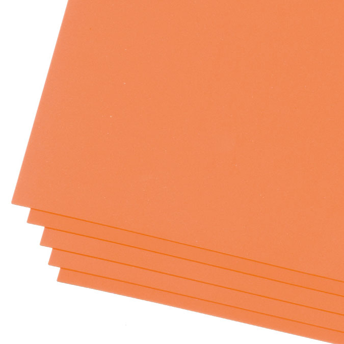 Feuille de mousse Creasoft 3 mm 50 x 70 cm Jaune