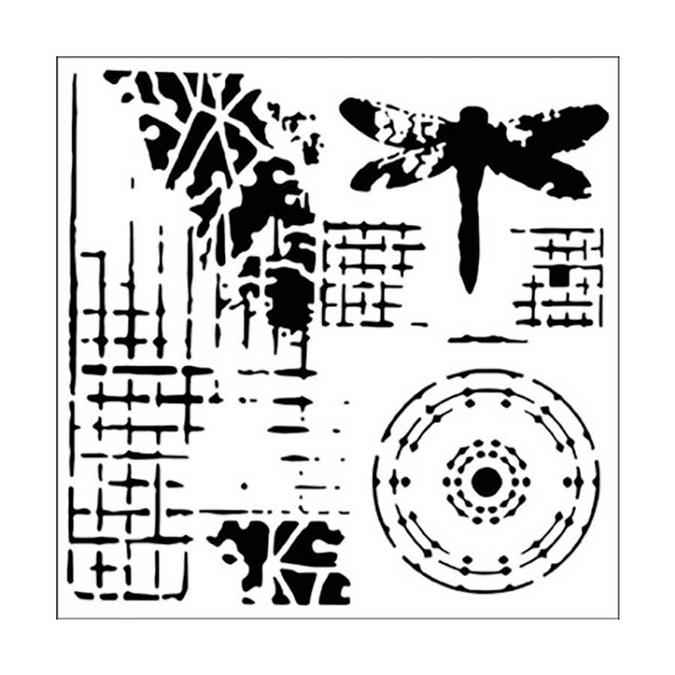 Pochoir souple - 30,5 cm - Screen Print