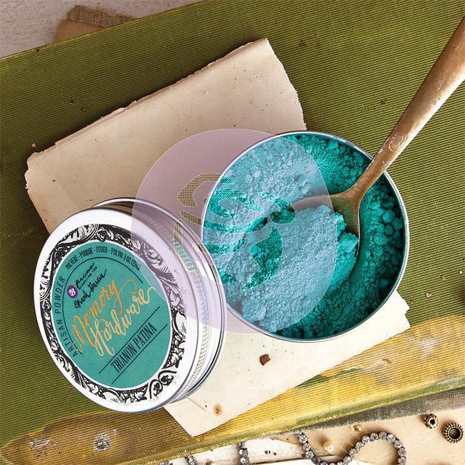 Poudre Artisan - 28 g - Turquoise