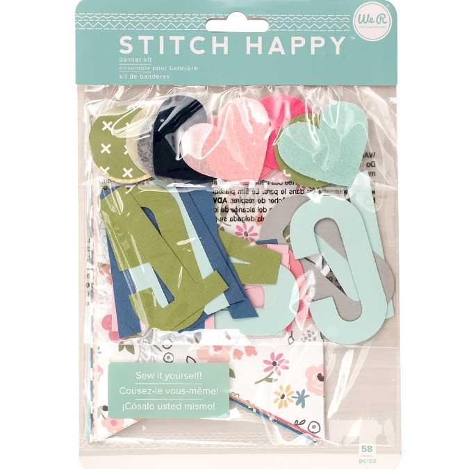 Ensemble pour bannière à coudre Stitch Happy
