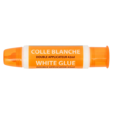 Colle blanche Double applicateur 42 ml