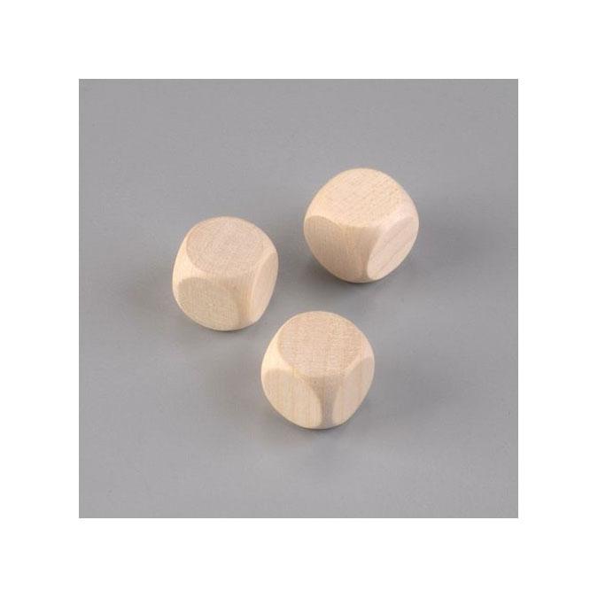 Cube en hêtre 20 mm 6 pièces