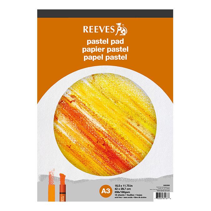 Bloc de papier Pastel 180 g/m² 16 feuilles