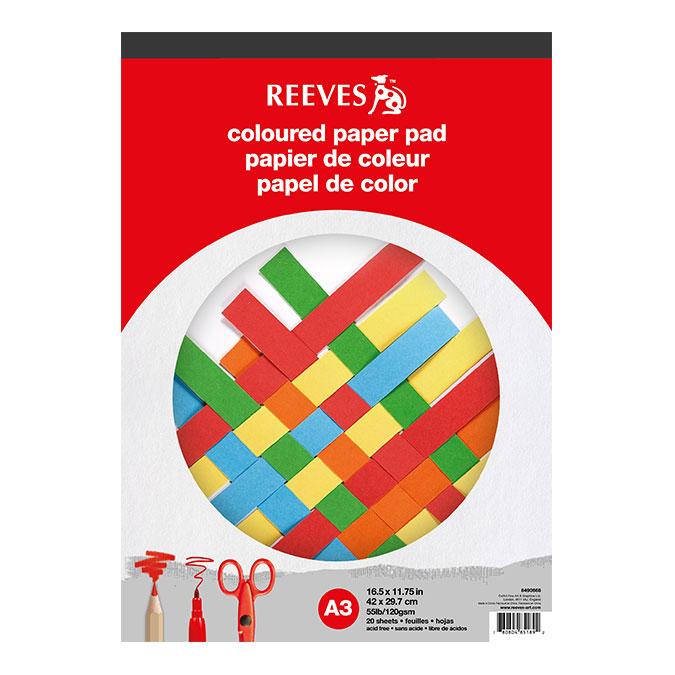 Bloc de papier Couleur 120 g/m² 20 feuilles