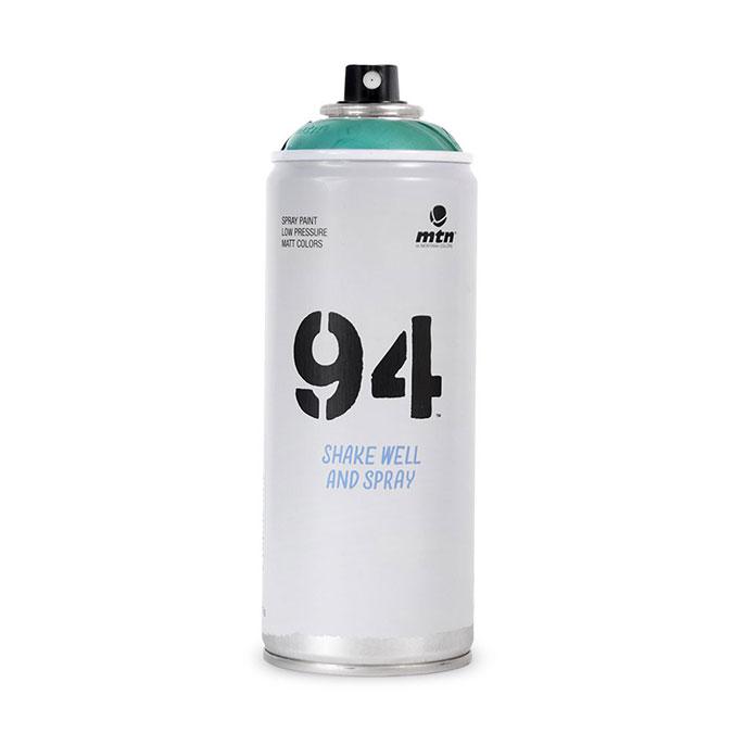 Peinture en spray MTN 94 Basse pression 400 ml Transparente Espectro Vert Brise 1 ***