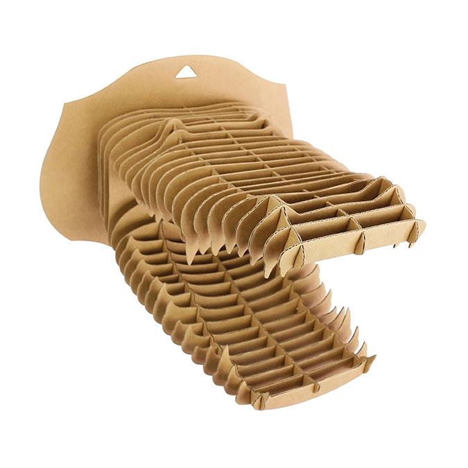 Trophée Crocodile en carton