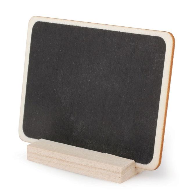 Tableau ardoise sur support H. 6,5 cm x B.8,5 cm