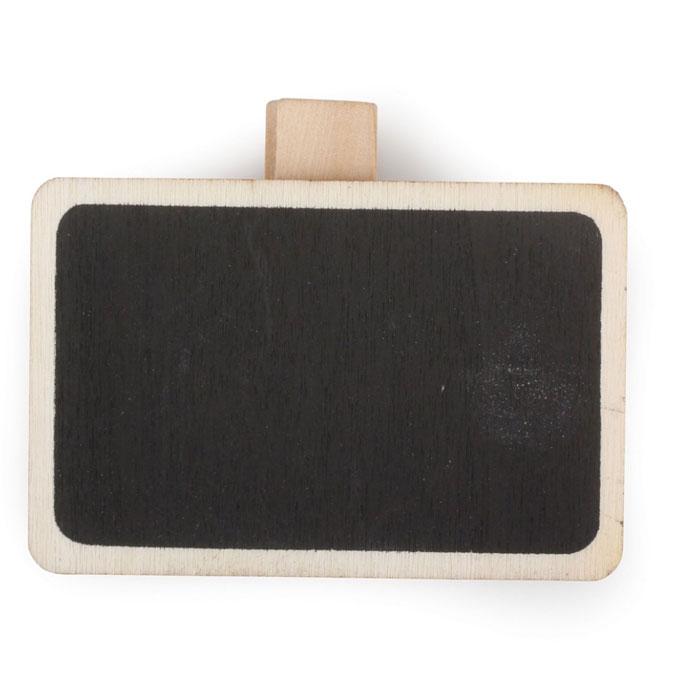 Tableau ardoise sur pince H. 4 x B.6 cm