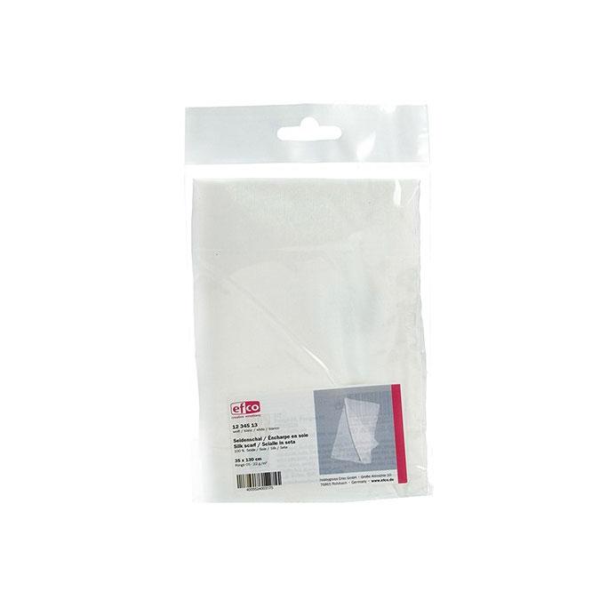 Echarpe de soie pongée 35 x 130 cm 22 g/m²