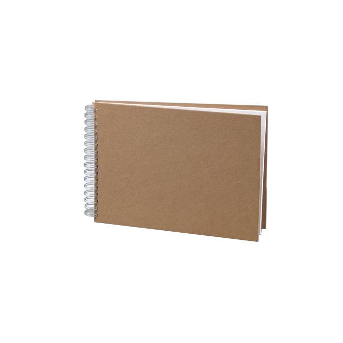 Carnet A4 Couverture cartonnée 25 feuilles 190 g/m²