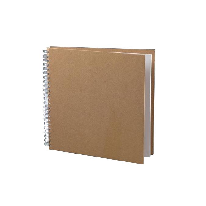 Carnet 30 x 30 cm Couverture papier mâché 25 feuilles 190 g/m²