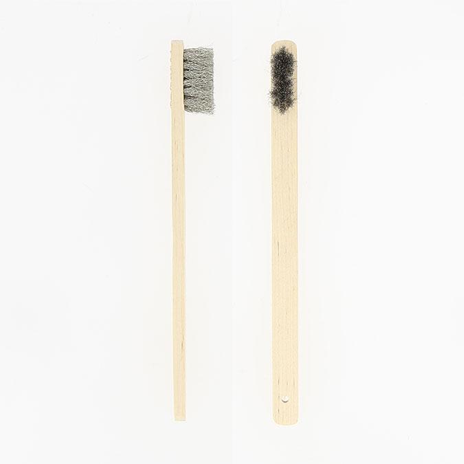 Brosse à polir Poils longs Acier inoxydable