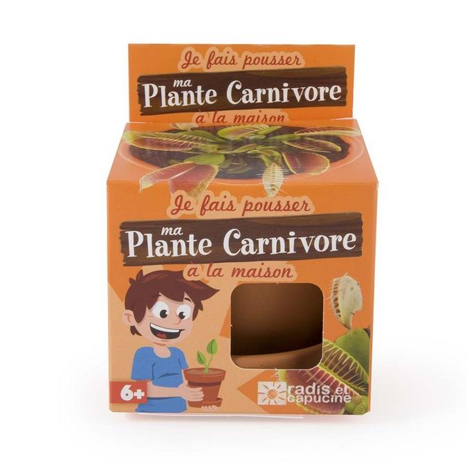 Kit de jardinage Je fais pousser ma plante carnivore