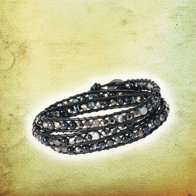 Kit bijoux Bracelet Brianna Magie noire