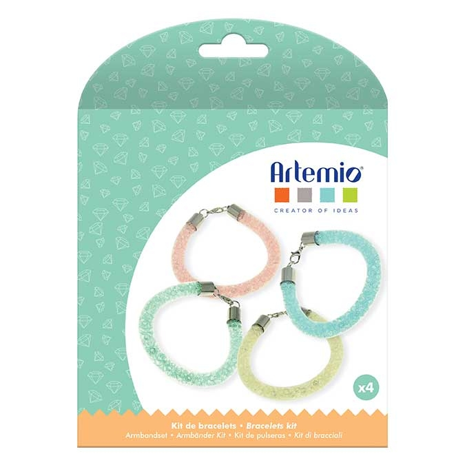 Kit bijoux Bracelet à perles Pastel