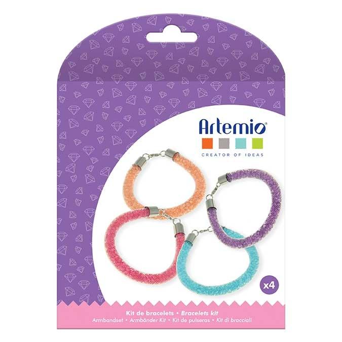 Kit bijoux Bracelet à perles Flower power