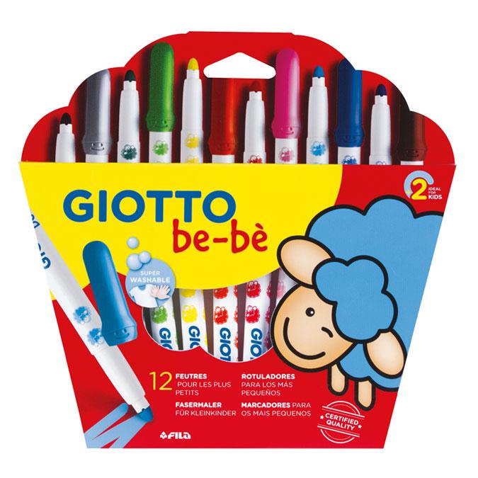 Feutre enfant Maxi Be-bè Pochette 12 couleurs