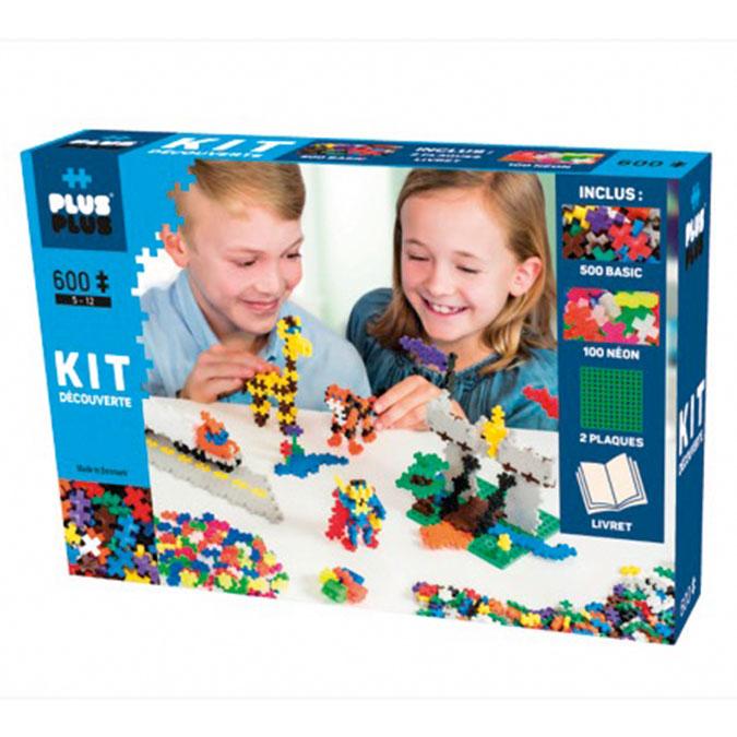 Jeu de construction Kit découverte 500 Mini Basic + 100 Mini Néon