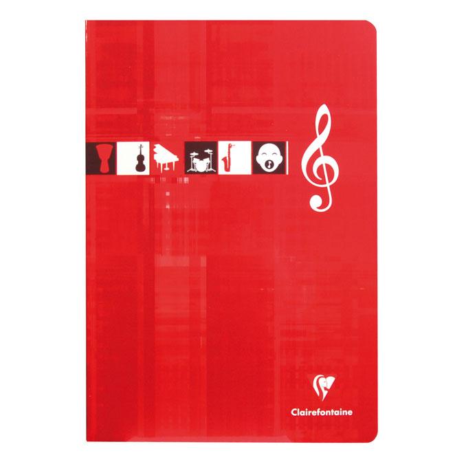 Cahier de musique A4 - 48 pages
