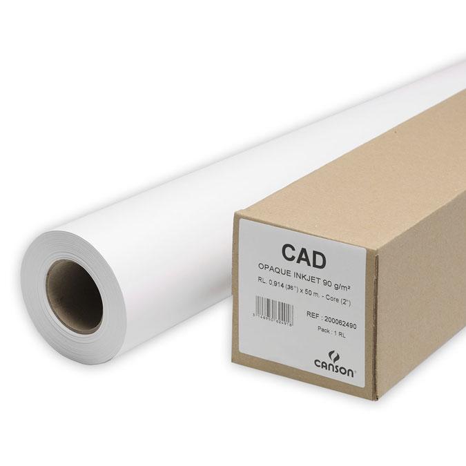 Papier CAD Standard Plus Opaca PM Rouleau 90 g/m²