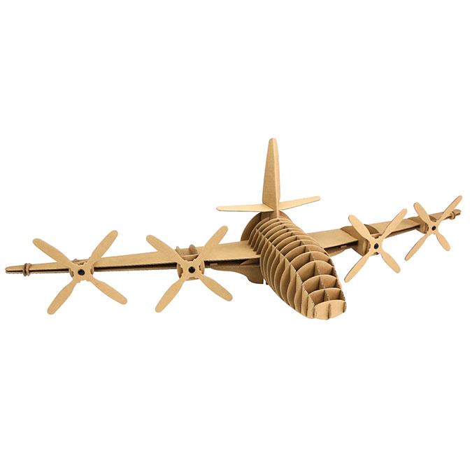 Avion en carton 28 cm