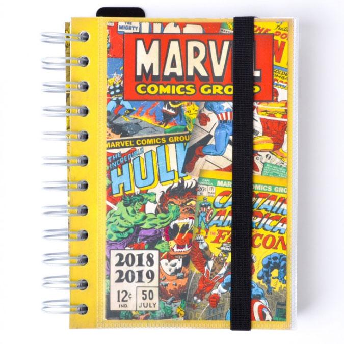 Agenda scolaire 2018/2019 Marvel