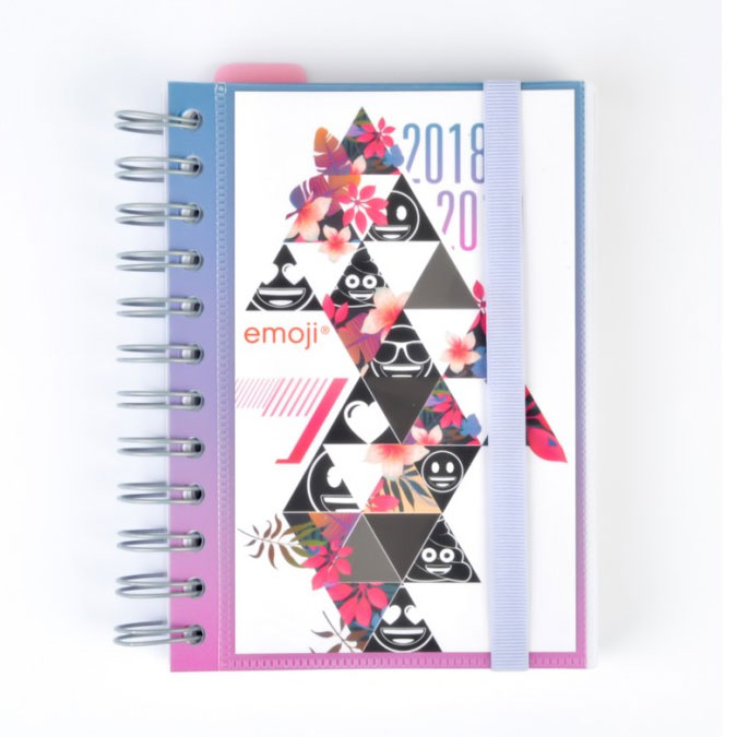 Agenda scolaire 2018/2019 Emoji