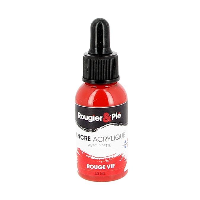 Encre acrylique 30 ml Noir