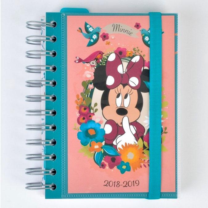 Agenda scolaire 2018/2019 Minnie Disney