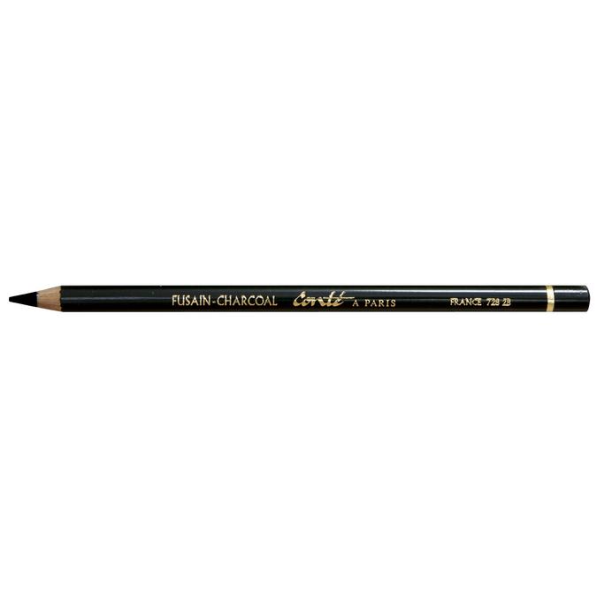 Crayon fusain 2B