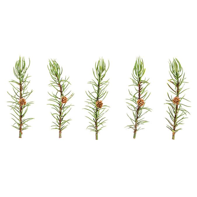 Fausse plante Branche de mélèze
