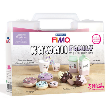 Kit figurine FIMO Kawaii Family