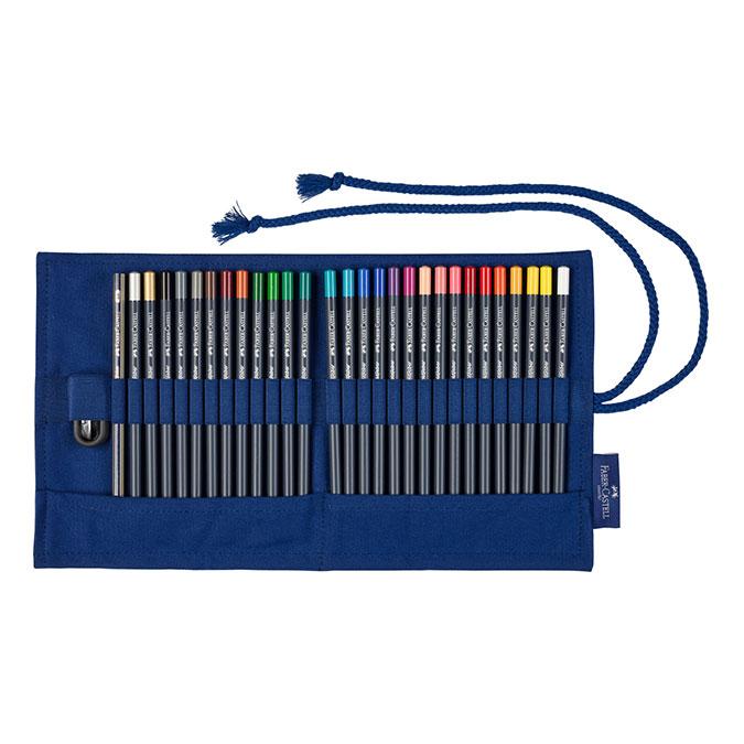 Crayon de couleur GoldFaber Trousse de 27 crayons