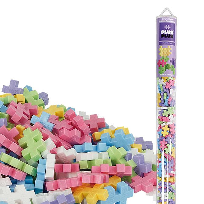 Jeu de construction Méga tube Mini pastel 520 pcs